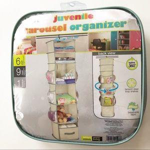 NEW Pro-Mart Closet Carousel Spinning Organizer